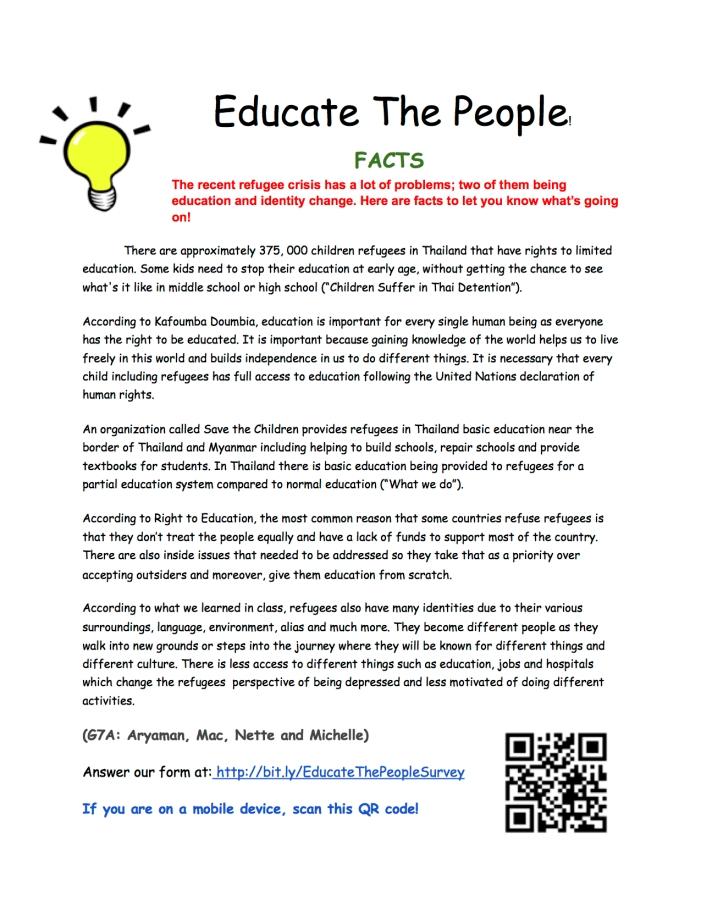 HumanitiesInformativeArticleAdvocacyService