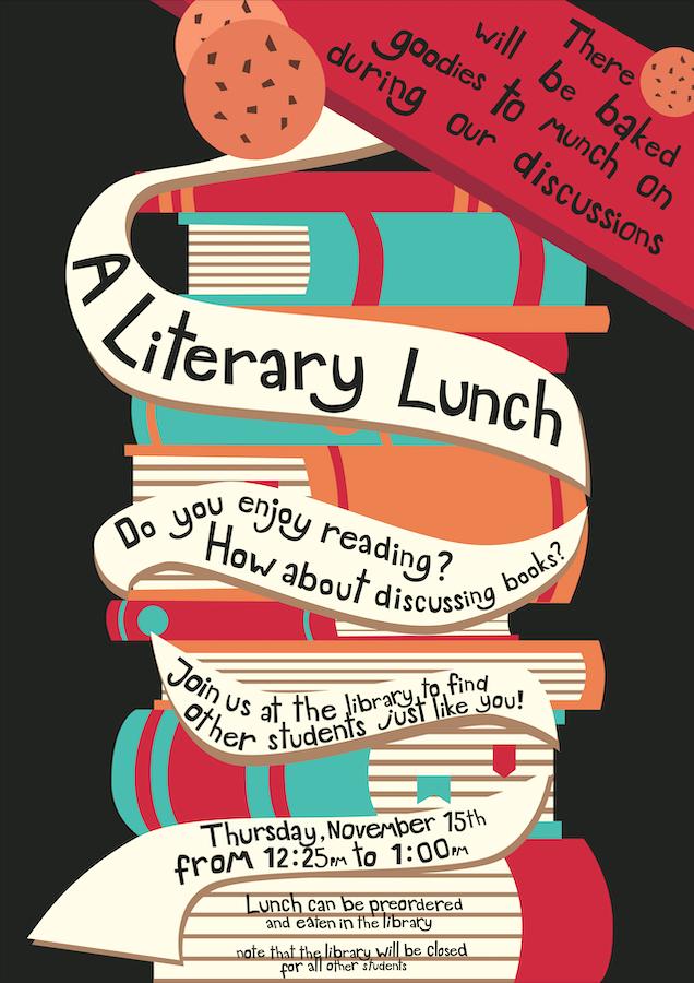 Literary Lunch November 15